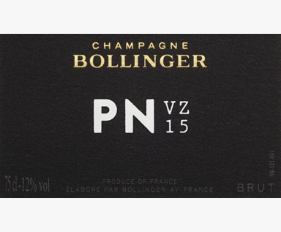 Bollinger Champagne PN VZ15