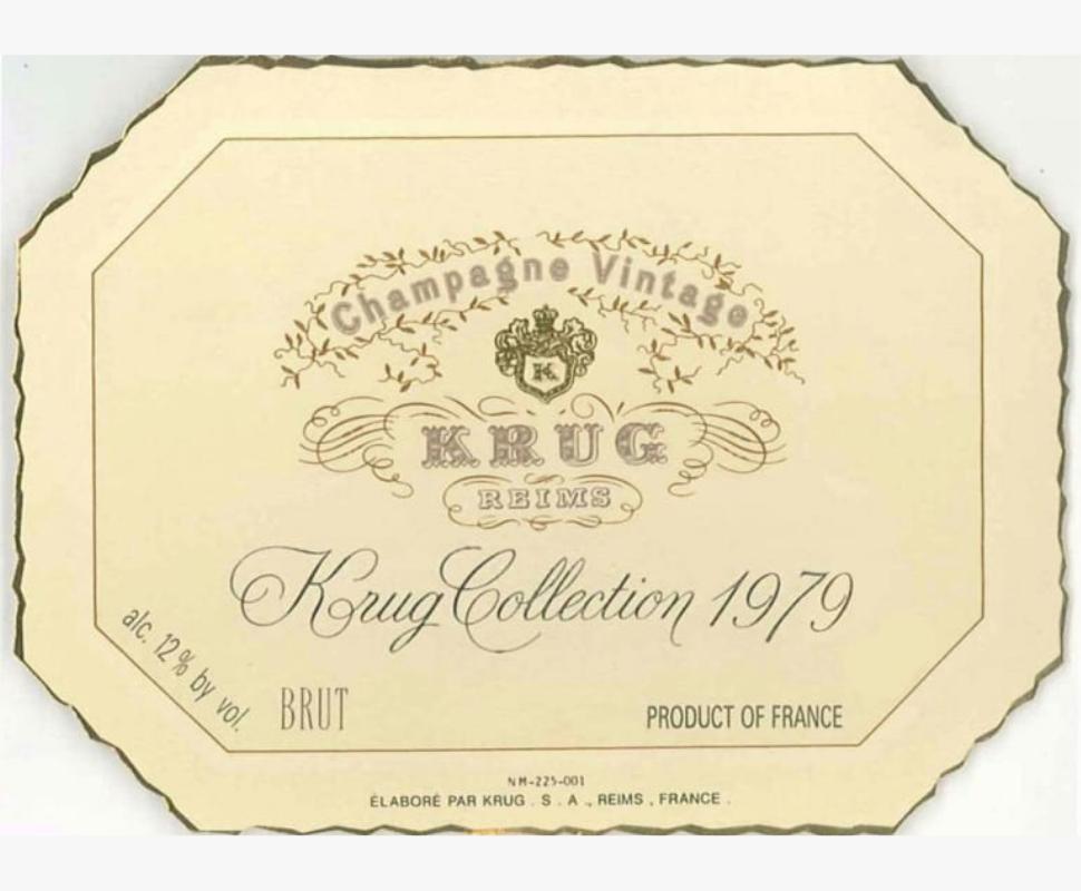 Krug Champagne 1964 Vintage...