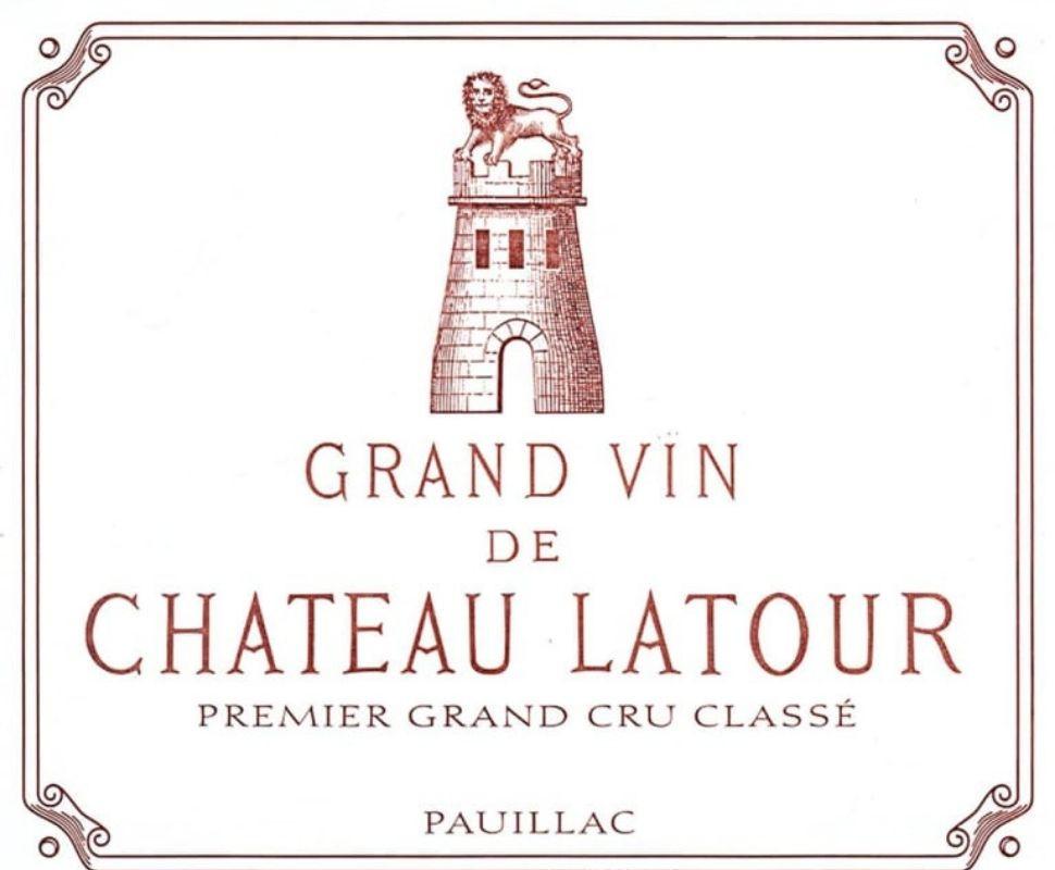 Chateau Latour Pauillac Aoc...