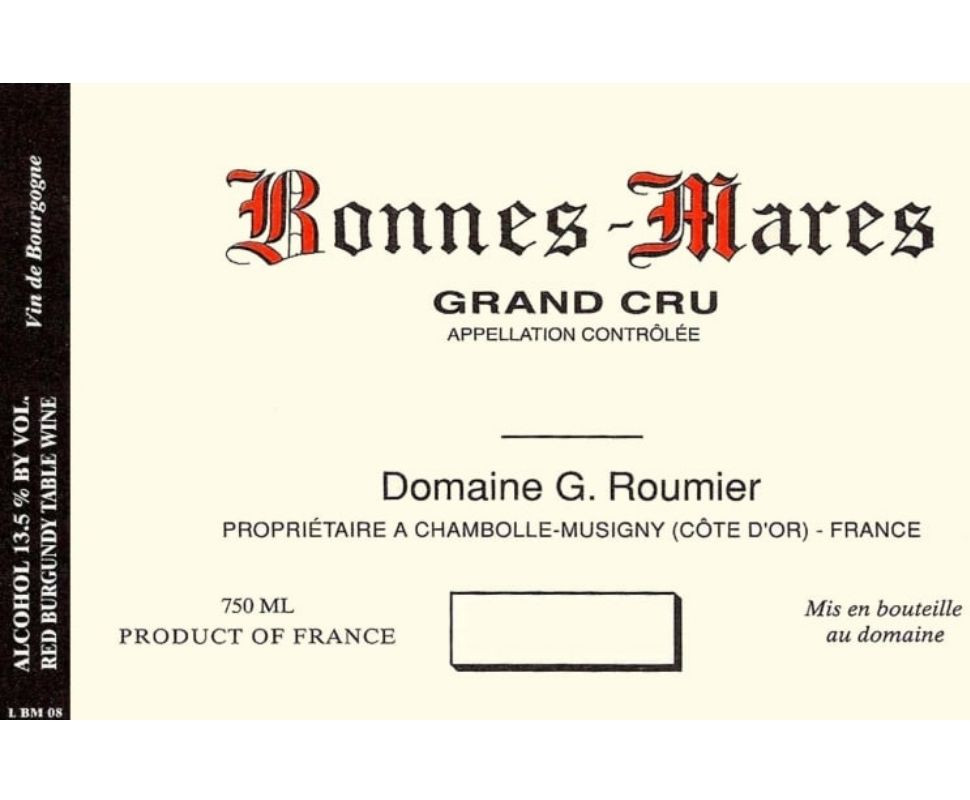 Domaine Georges Roumier...
