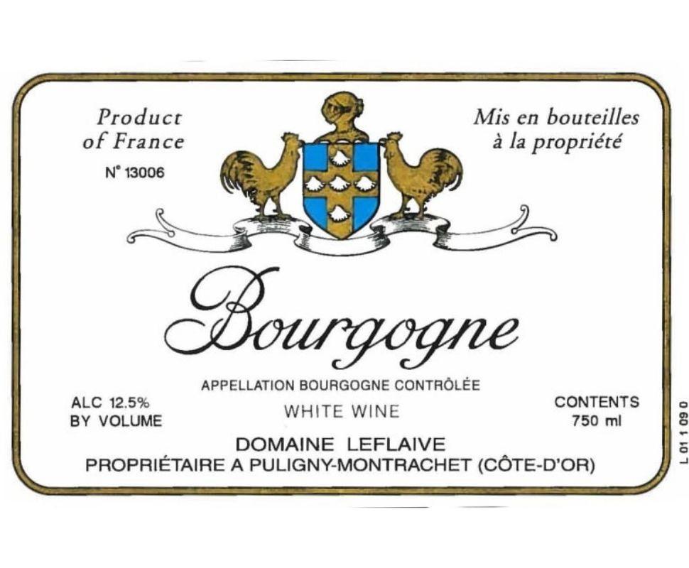 Domaine Leflaive Bourgogne...