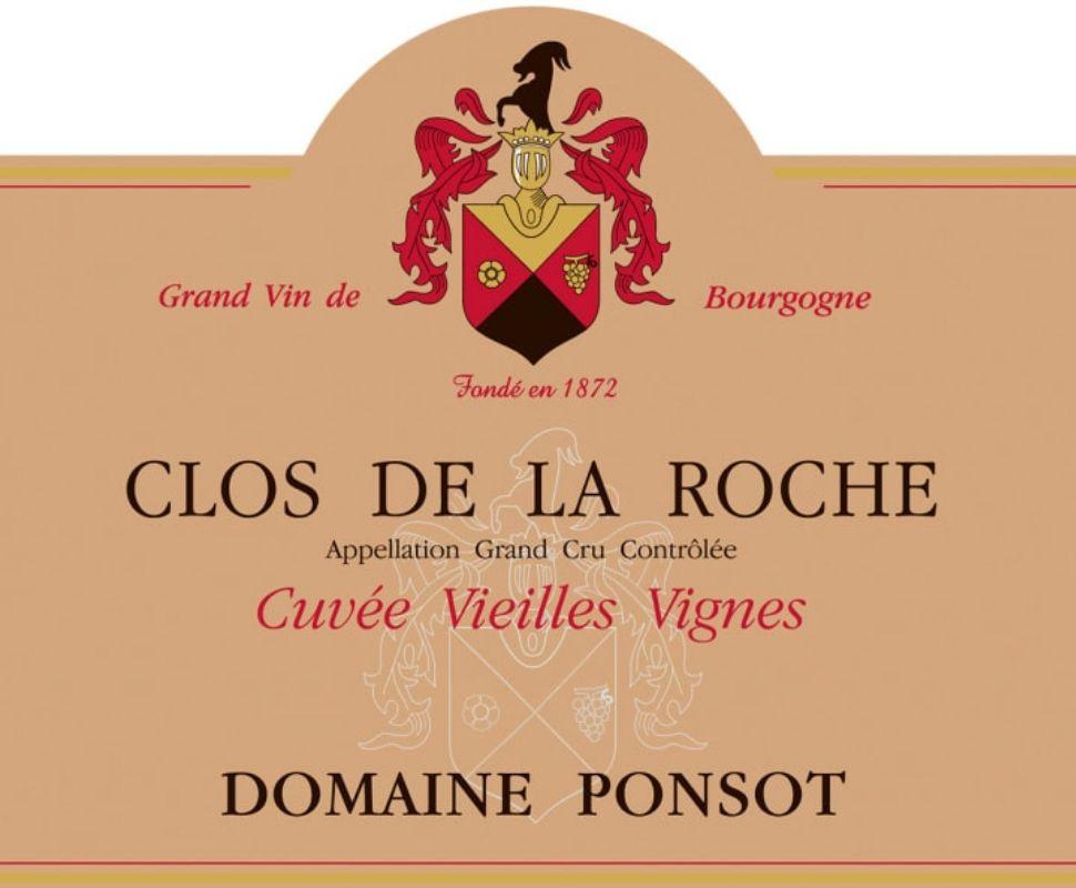 Domaine Ponsot Clos de la...