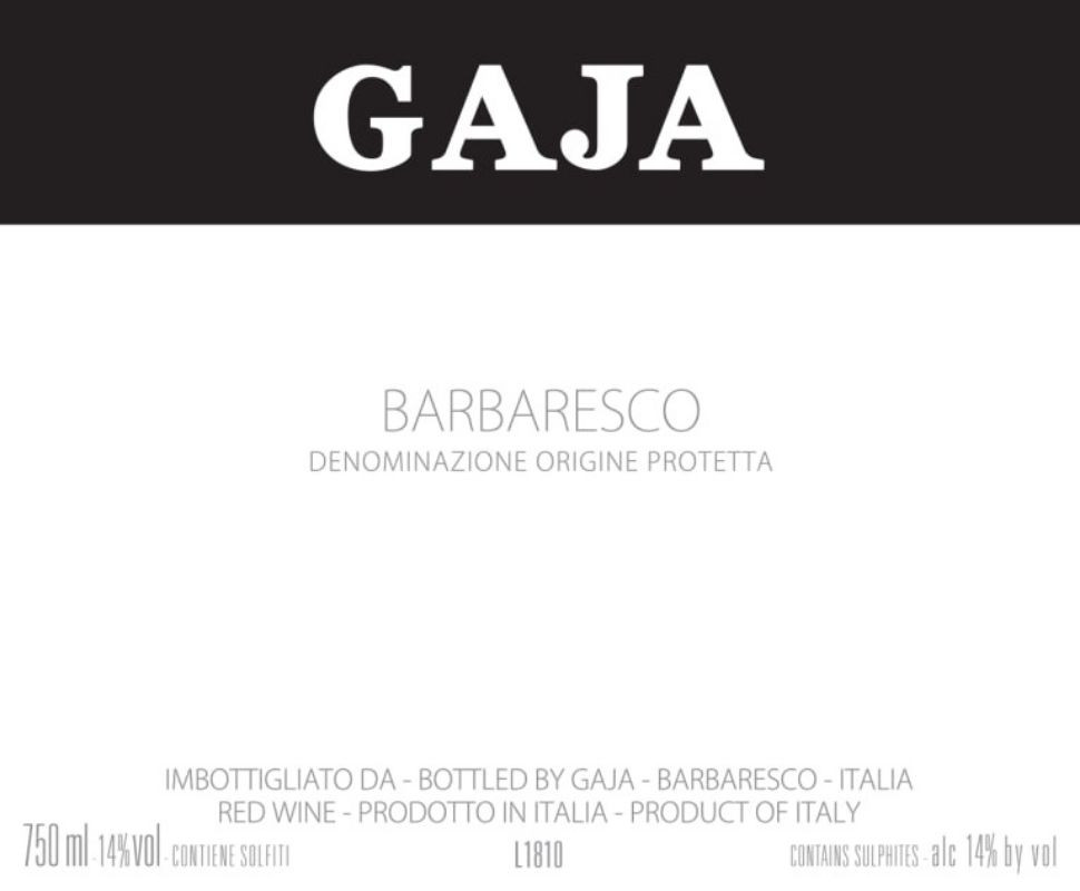 Gaja Barbaresco Docg 1999...