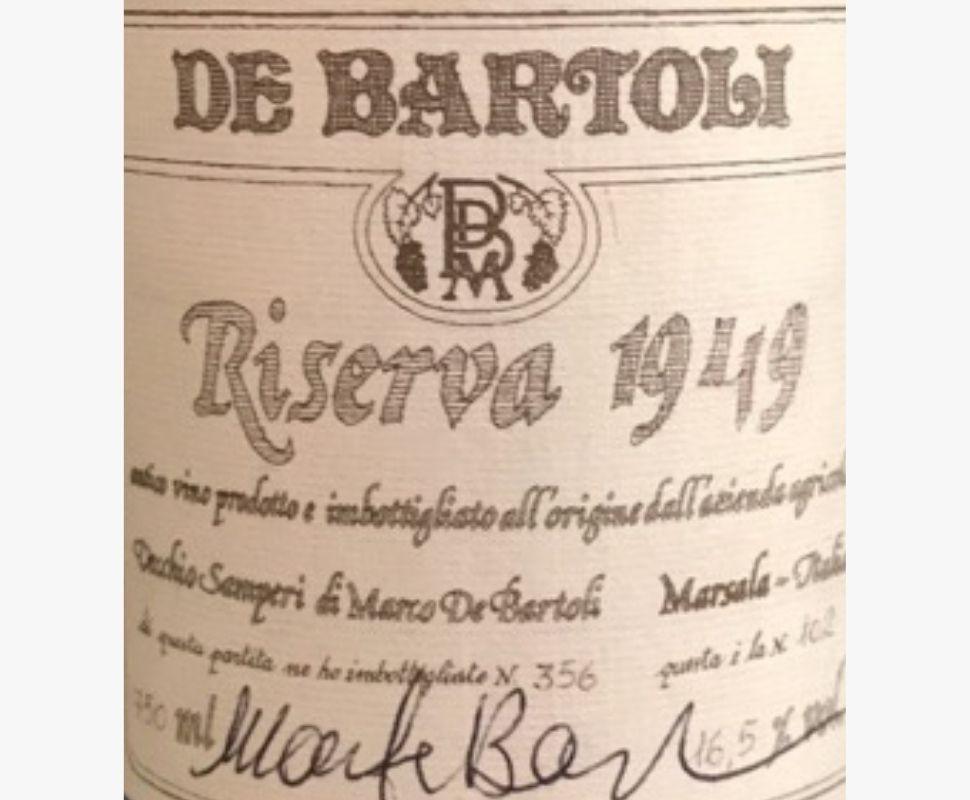 De Bartoli Marsala 1945...