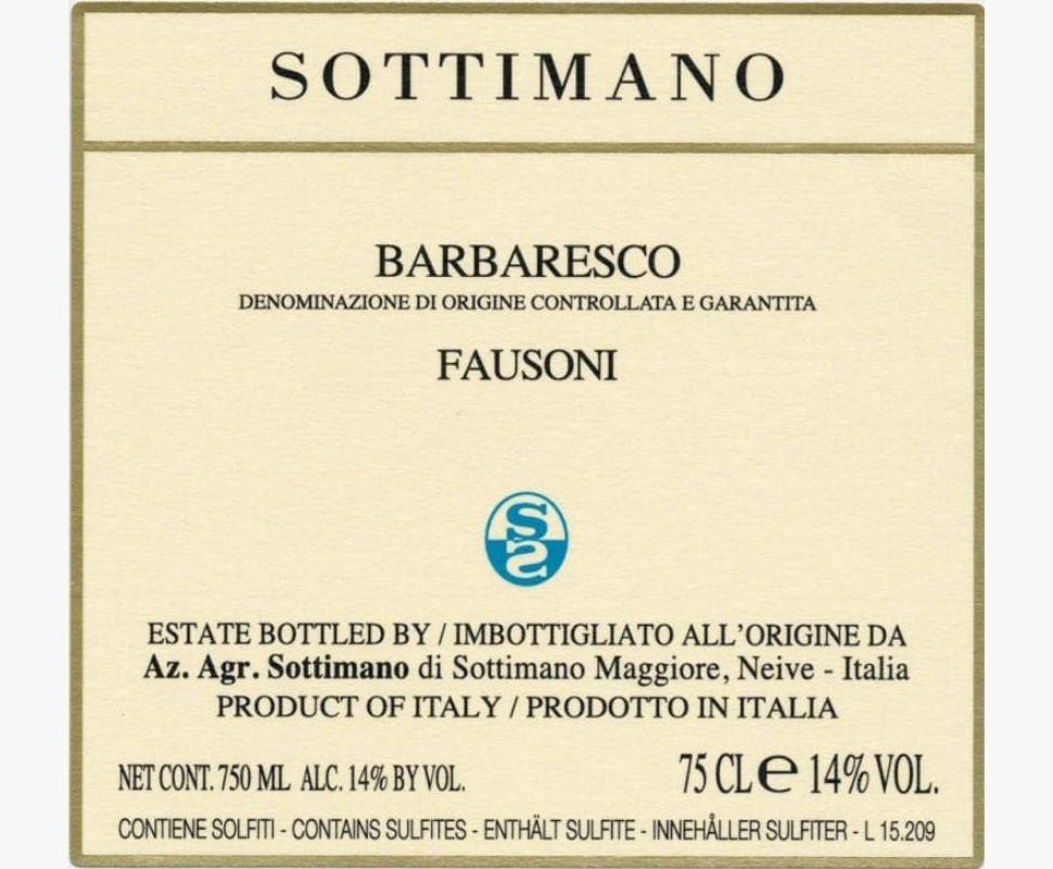 Sottimano Barbaresco Docg...