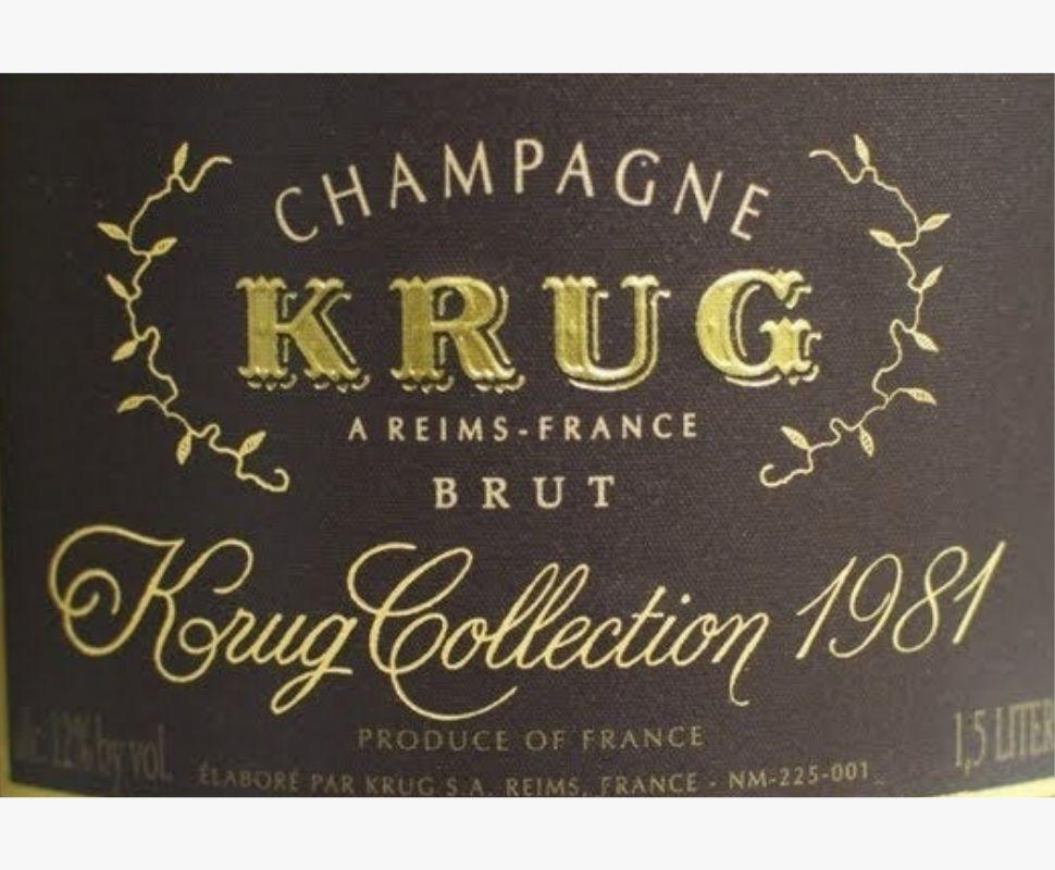 Krug Champagne Aoc 1981
