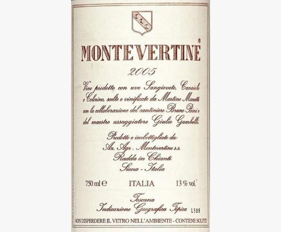 Montevertine Toscana Igt...