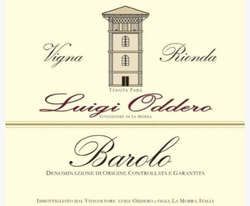 Oddero Luigi Barolo Docg...