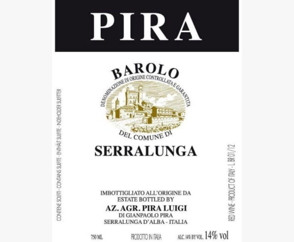 Pira Luigi Barolo Docg 2014...
