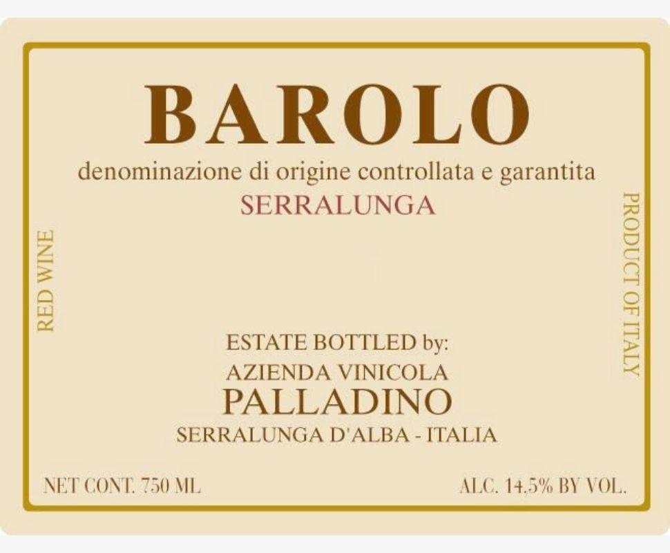 Palladino Barolo Docg 2013...