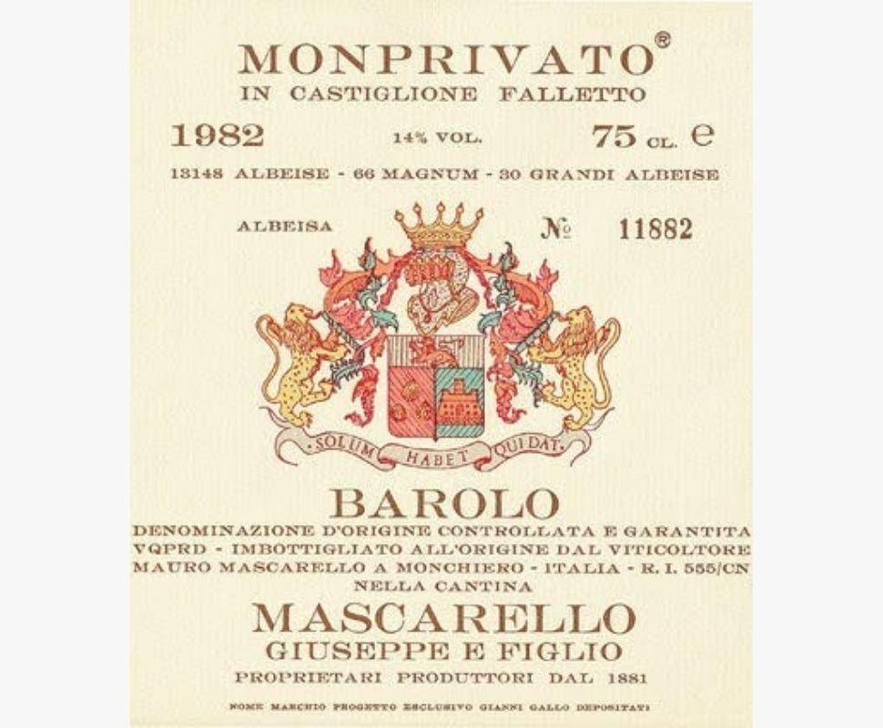 Mascarello Giuseppe Barolo...