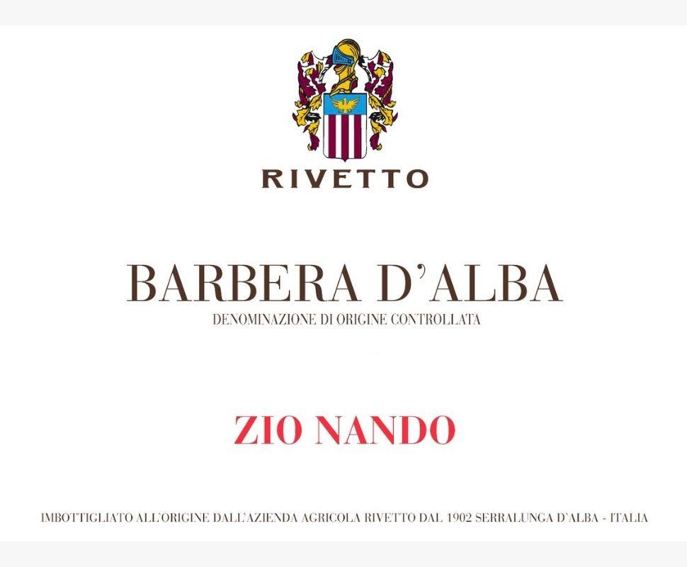Rivetto Barbera d'Alba Doc...