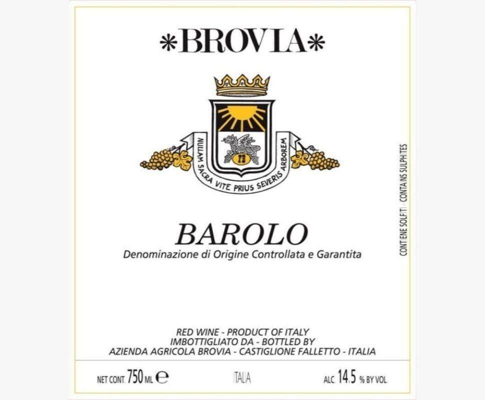 Brovia Barolo Docg 2009