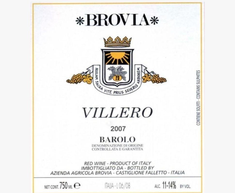 Brovia Barolo Docg 2009...