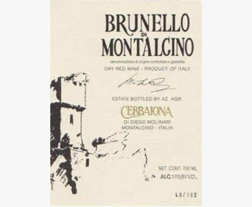 La Cerbaiona Brunello di...