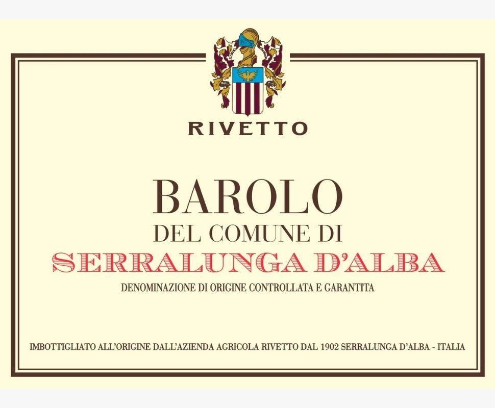 Rivetto Barolo Docg 2017...