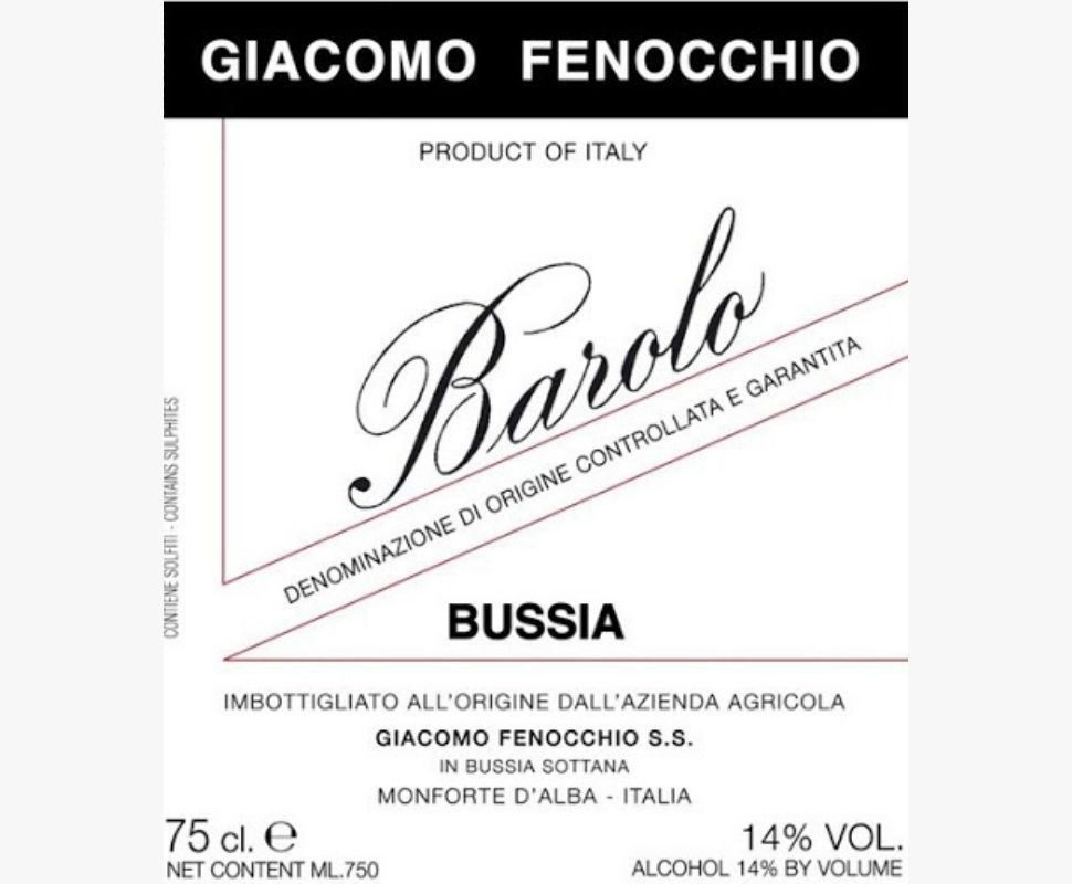 Fenocchio Giacomo Barolo...