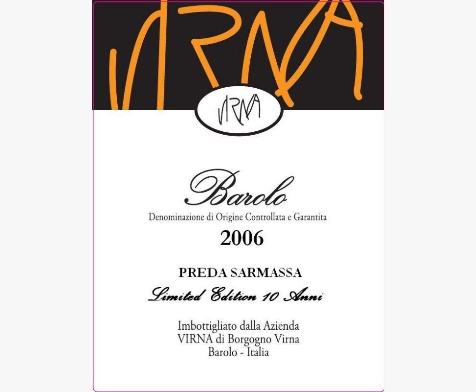 Virna Barolo Docg 2006...