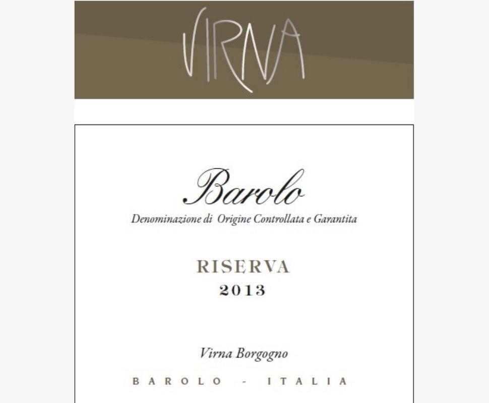 Virna Barolo Docg 2013...