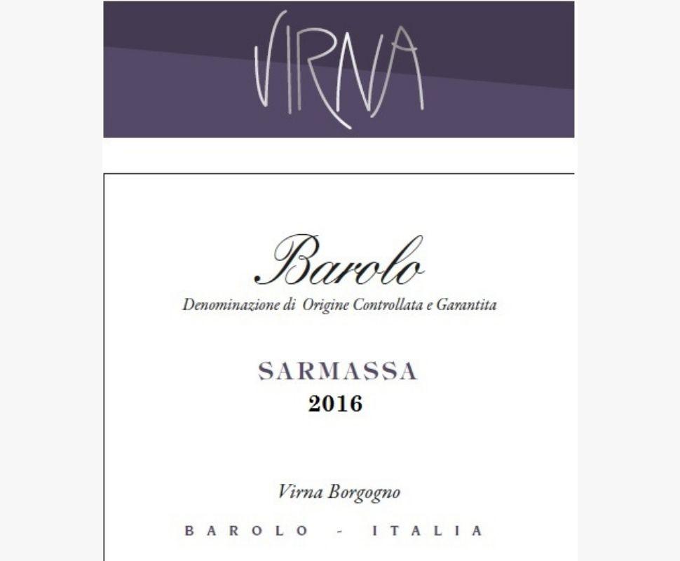 Virna Barolo Docg 2016...