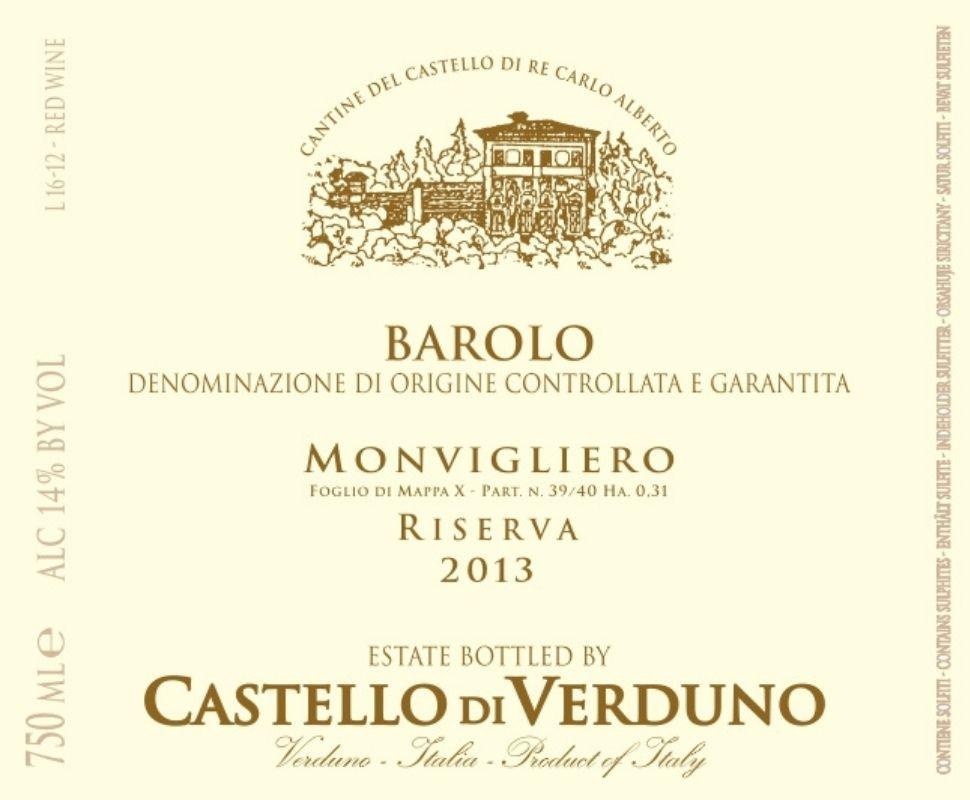 Castello di Verduno Barolo...