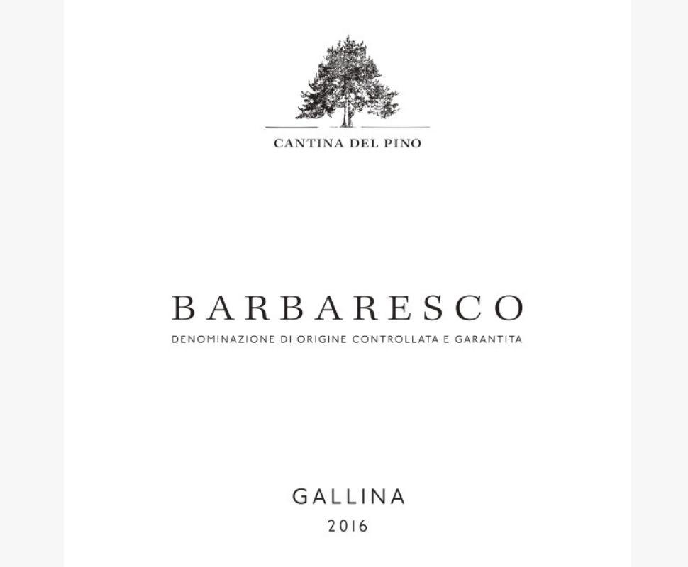 Cantina del Pino Barbaresco...