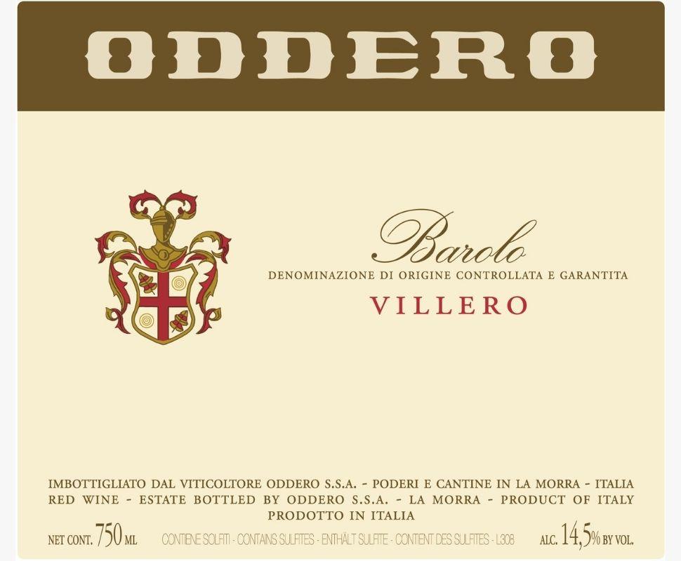 Oddero Barolo Docg 2016...