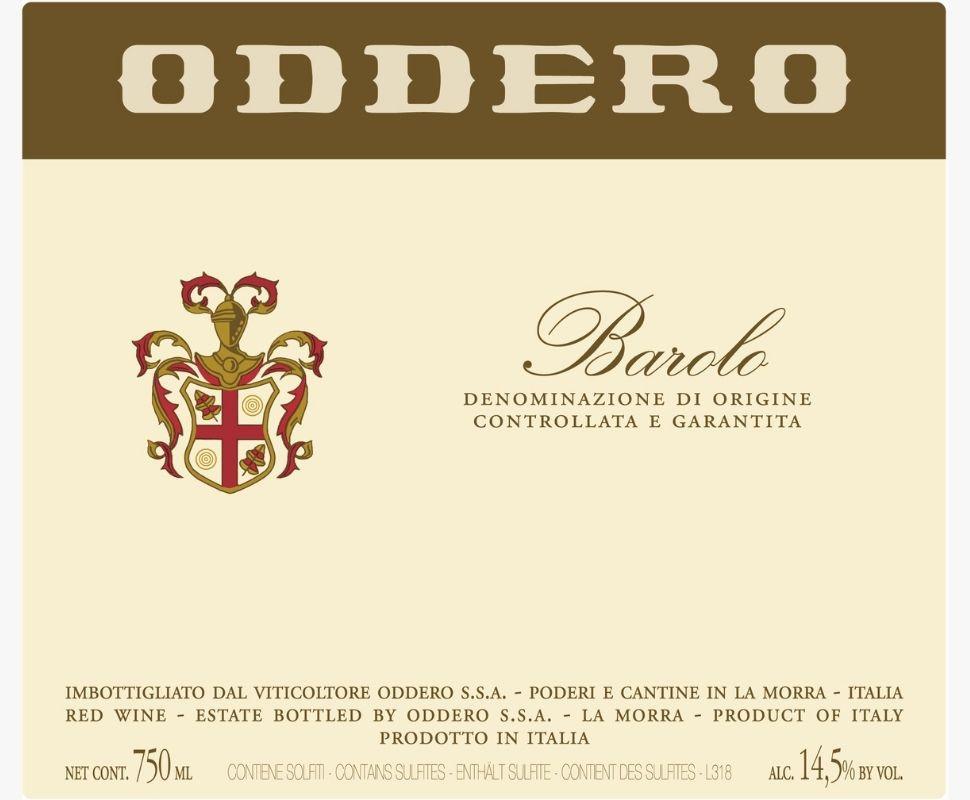 Oddero Barolo Docg 2017...