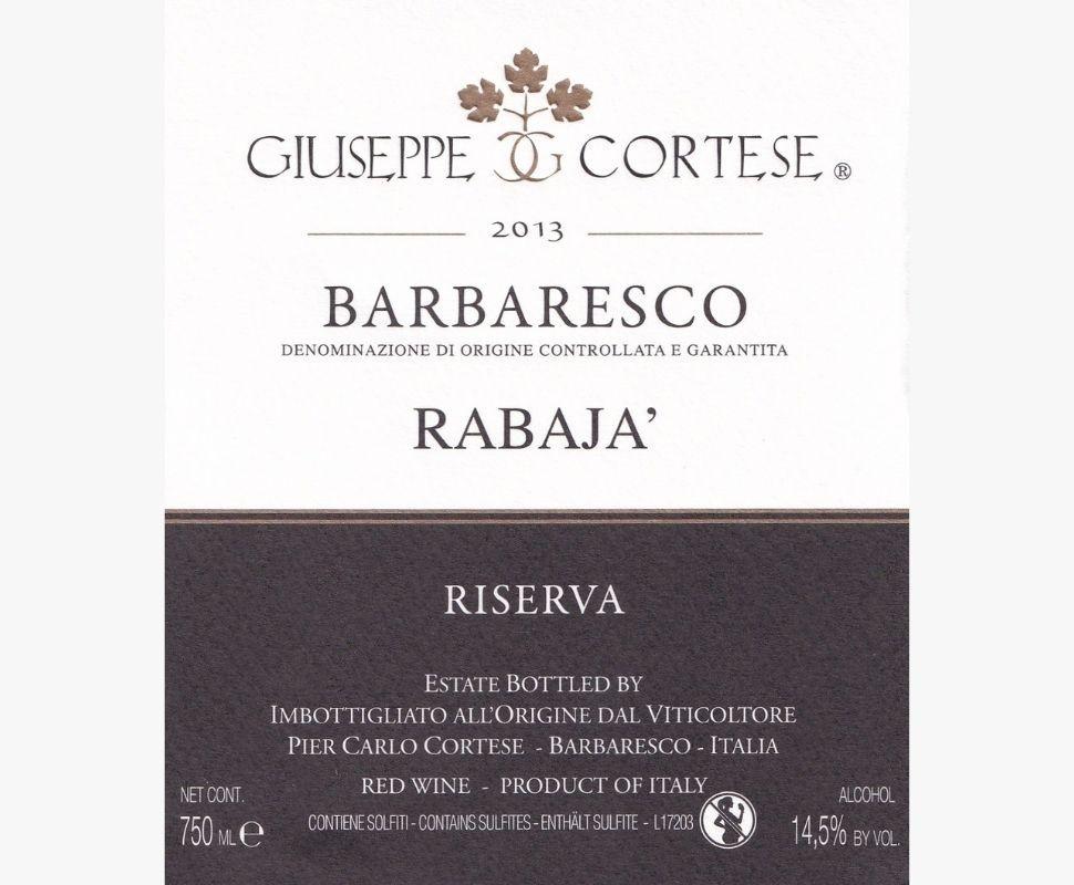 Cortese Giuseppe Barbaresco...