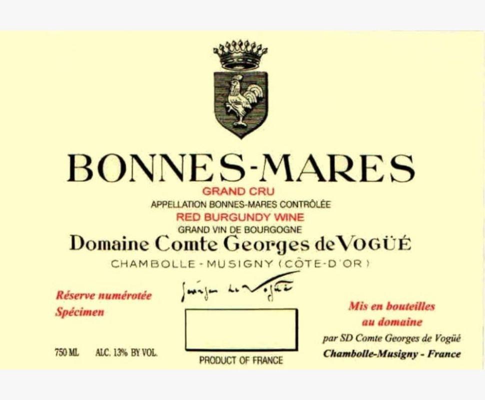 Comte de Vogue Bonnes-Mares...
