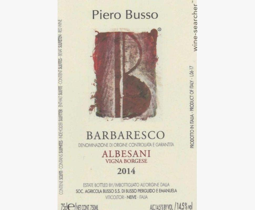 Busso Piero Barbaresco Docg...