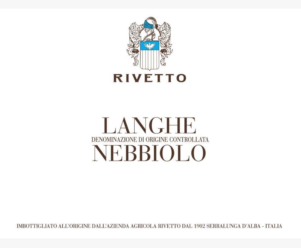 Rivetto Langhe Nebbiolo Doc...