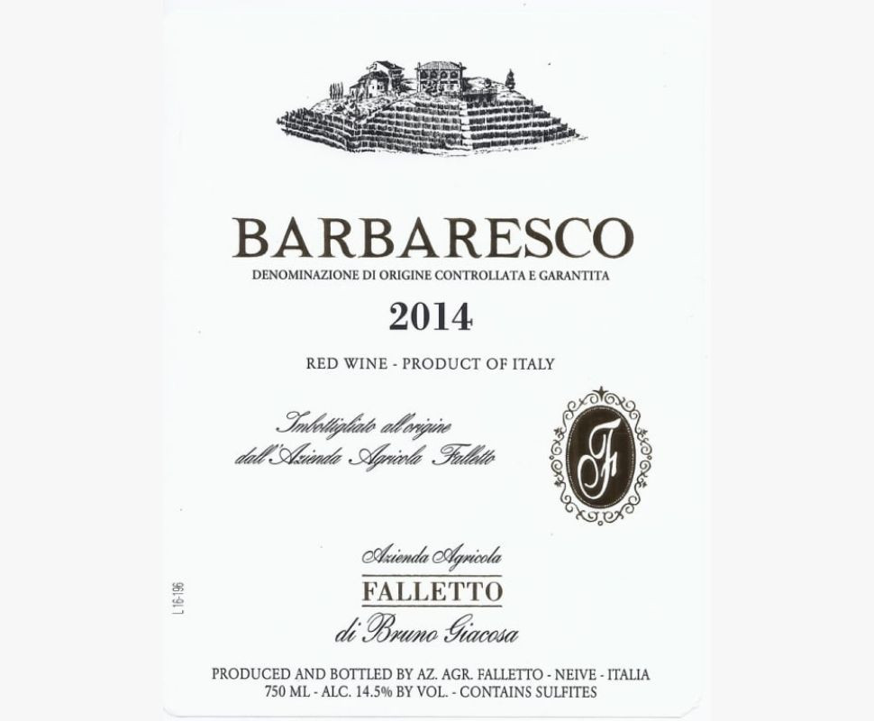 Giacosa Bruno Barbaresco...
