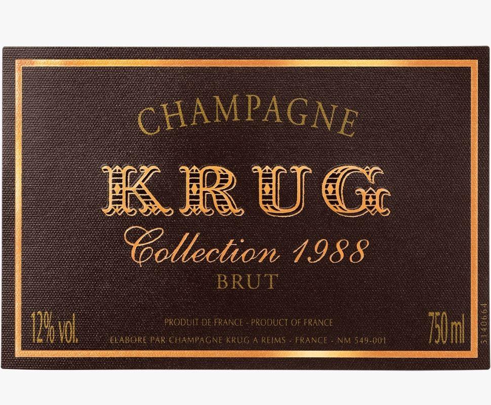 Krug Champagne 1988...