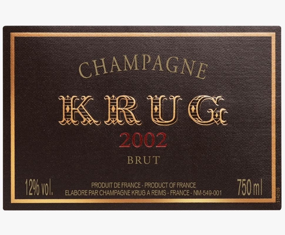 Krug Champagne Aoc 2002...