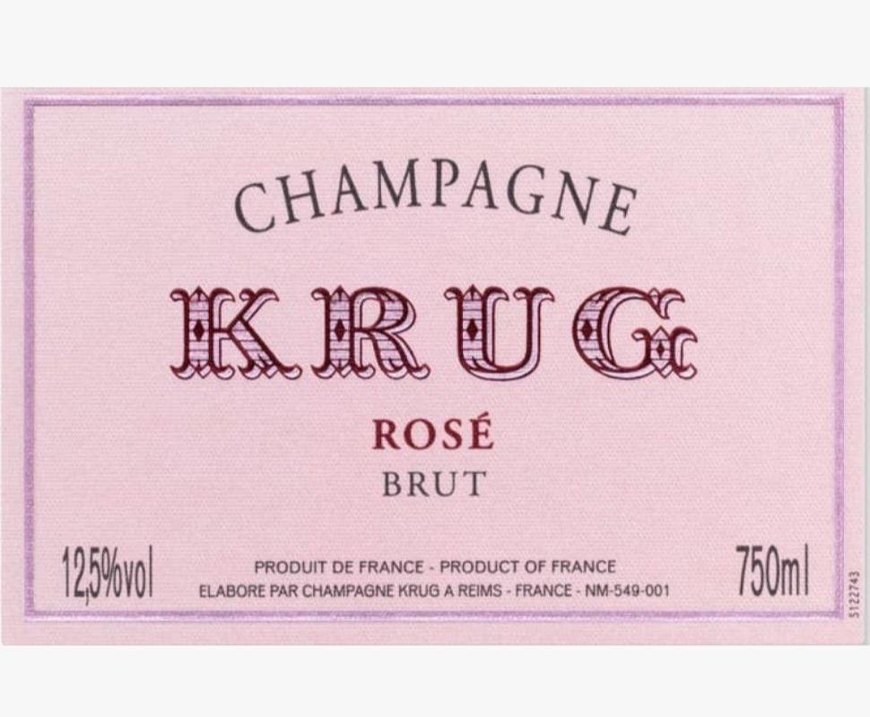 Krug Champagne Aoc Rose...