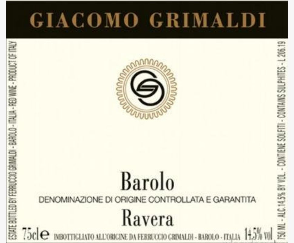 Grimaldi Giacomo Barolo...