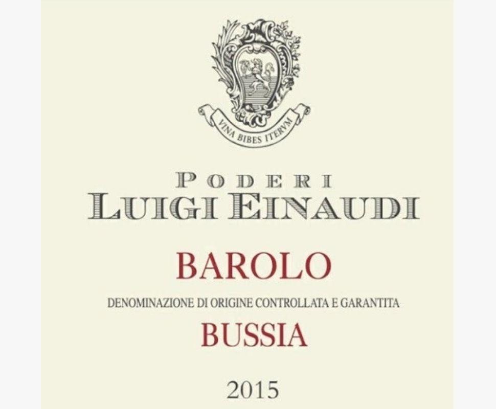 Poderi Luigi Einaudi Barolo...