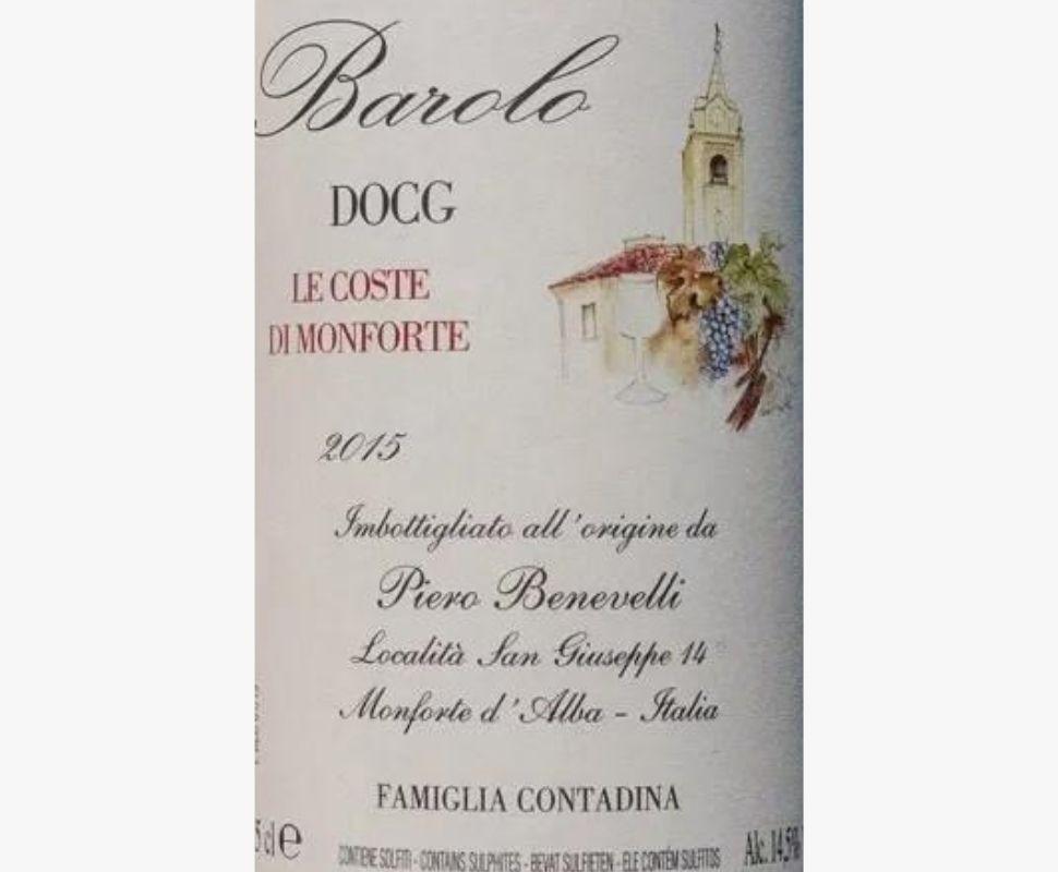 Benevelli Piero Barolo Docg...