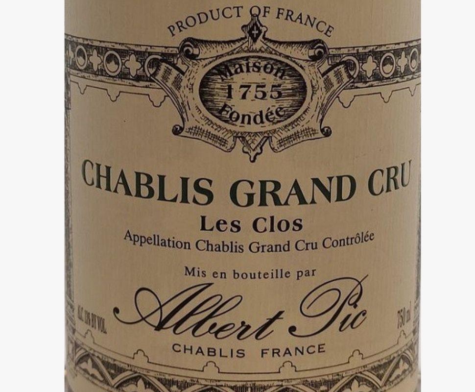 Albert Pic Chablis Le Clos...