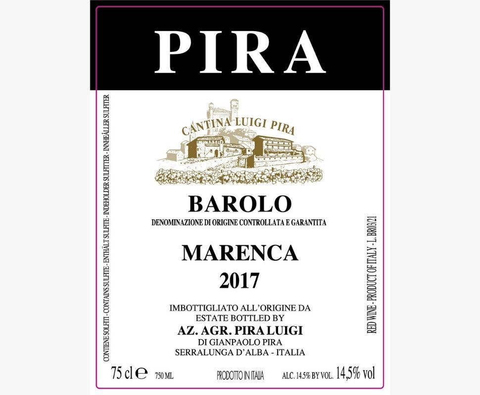 Pira Luigi Barolo Docg 2017...