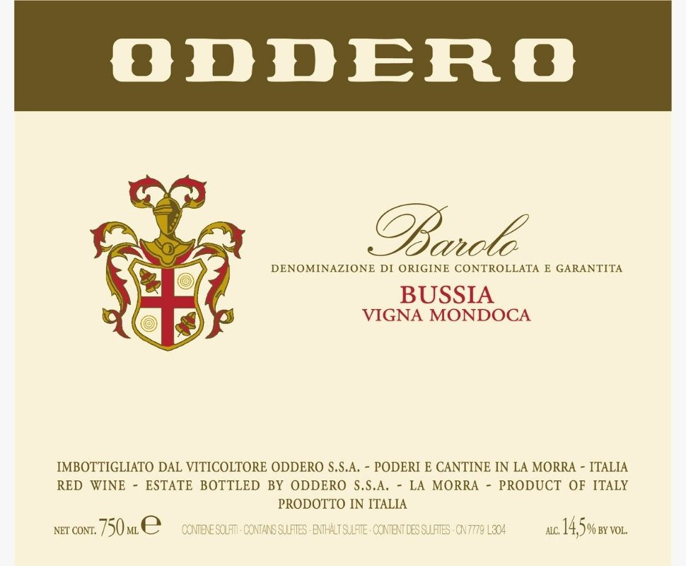 Oddero Barolo Docg 2015...