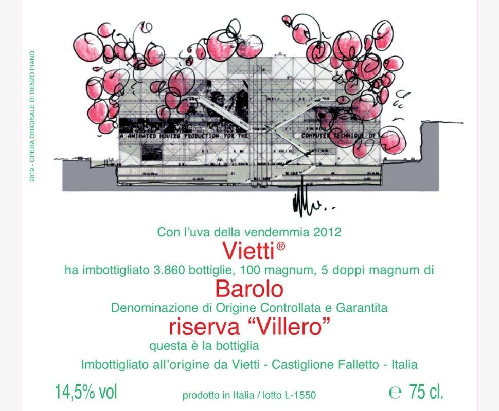 Vietti Barolo Docg 2012...