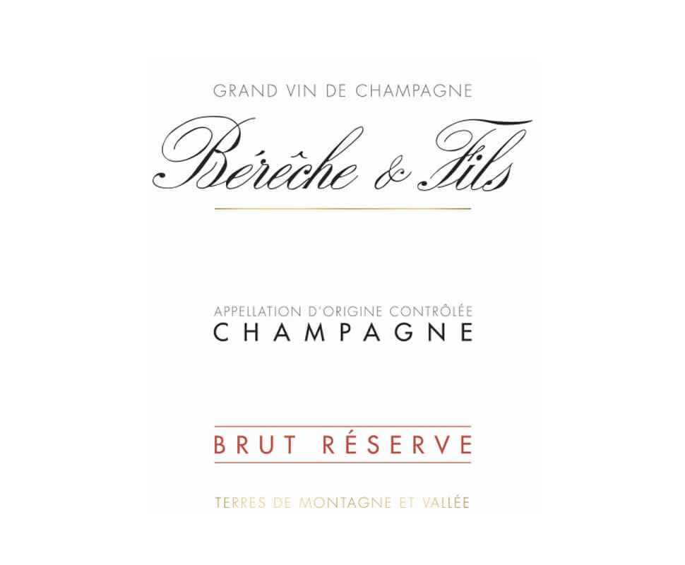Bereche et Fils Champagne...